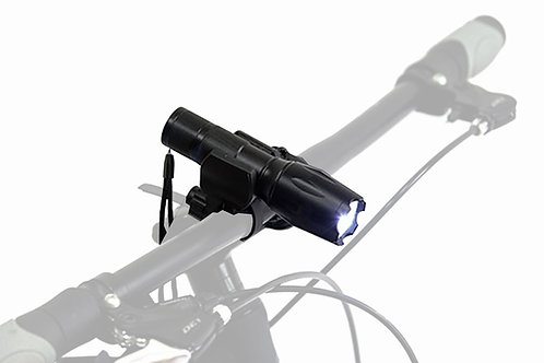 RECHARGEABLE BRIGHT TORCH   (lithium battery)