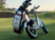 Electric golf bike