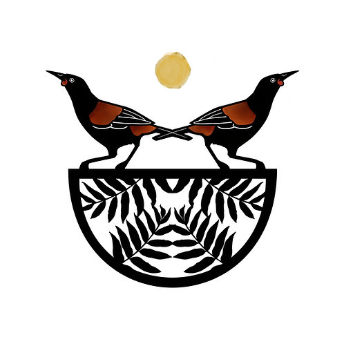 Saddleback And The Fern Bowl