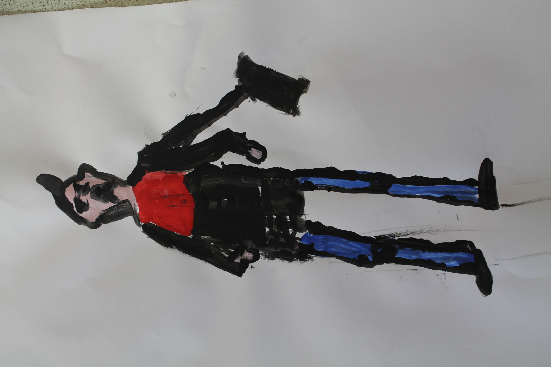 Year 2 Lowry-style Painting