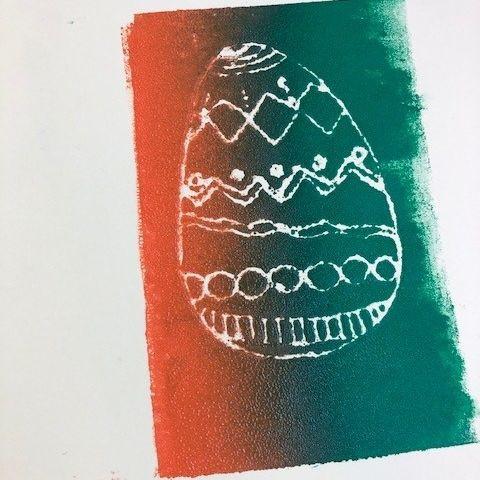 Easter Art | Mono-Printing