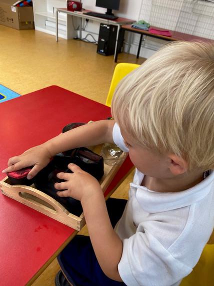 Sensory Play in the Nursery