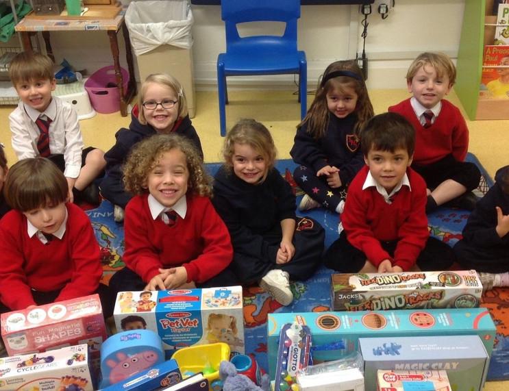 Getting Festive in the Pre-Reception classroom!