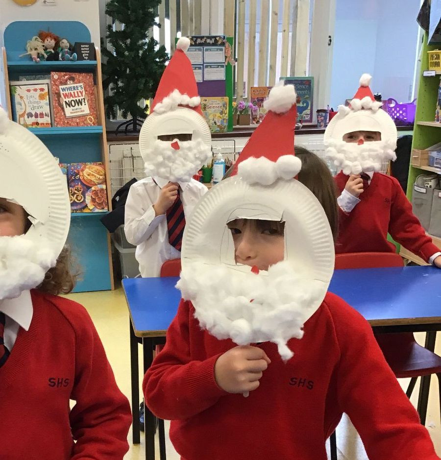Reception getting excited for Christmas!