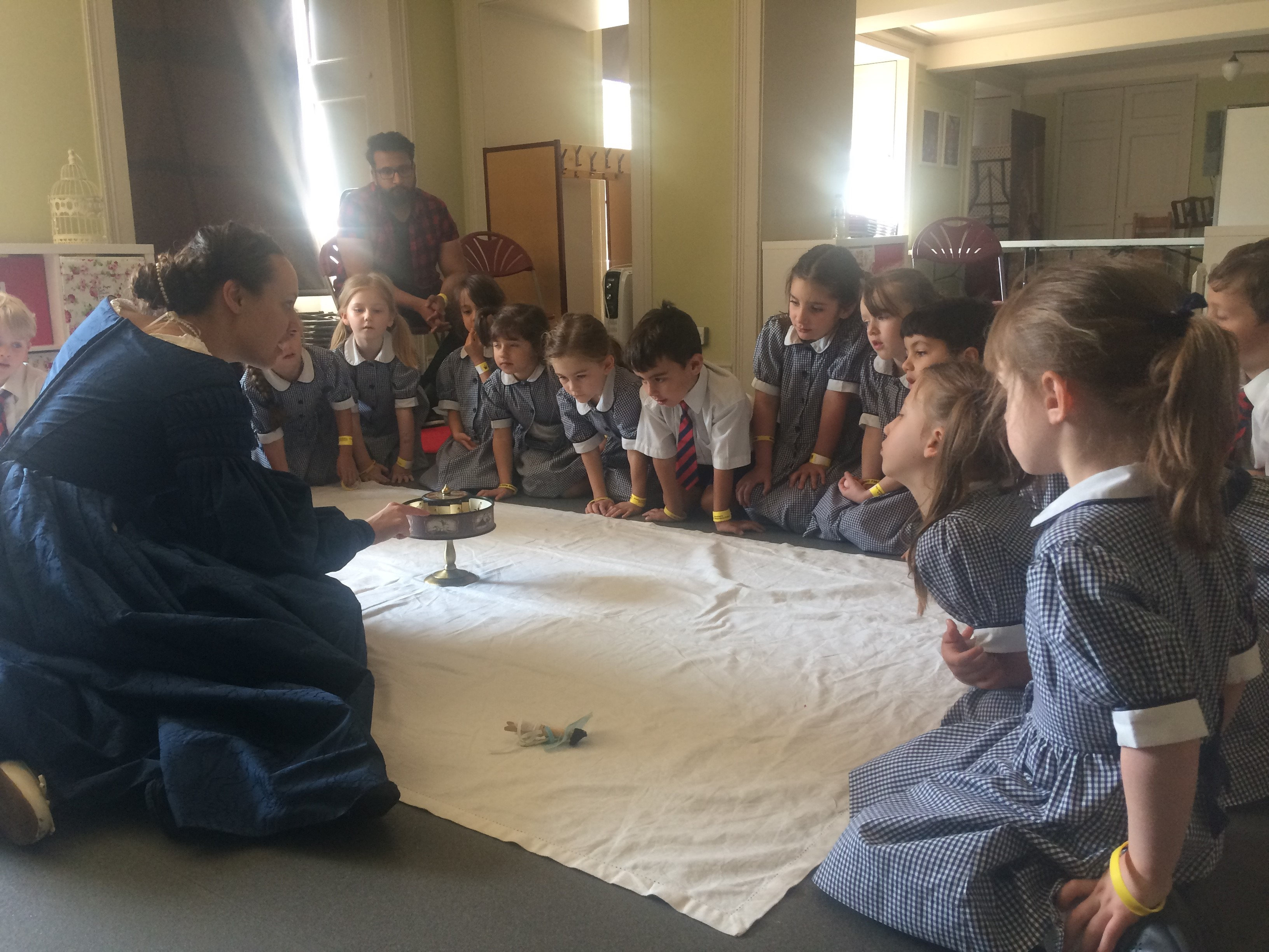 Year 1 Trip to the Palace