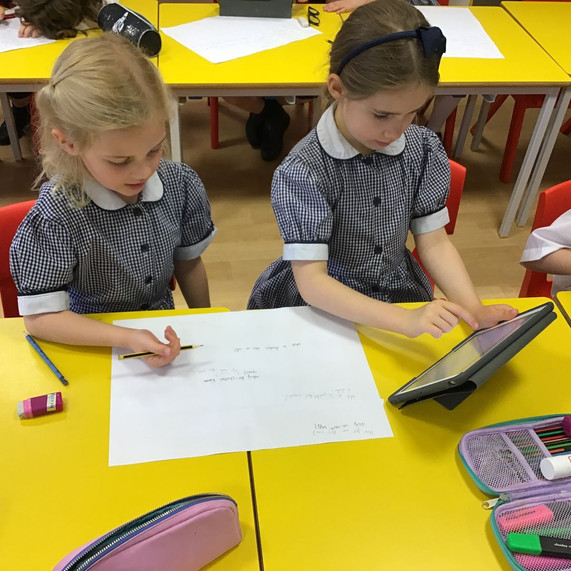 Year 2 learning about animals