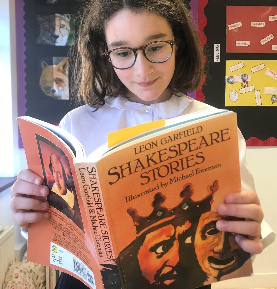 Year 6 have been studying Shakespeare this week