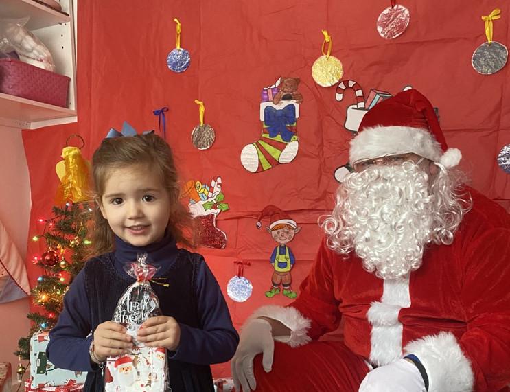 Santa visiting the Nursery!