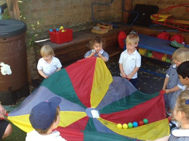 Summer Term in the Nursery