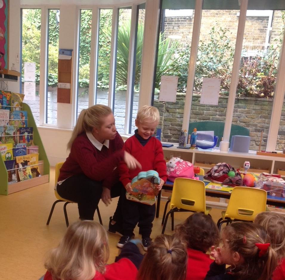 Lower Nursery Show and Tell!