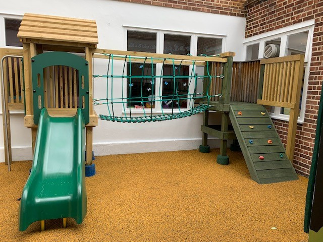 Our new Play Structure!