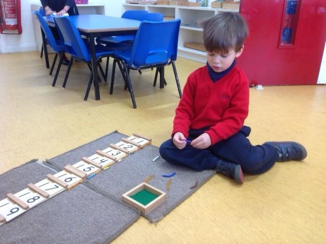 Last week of term in the Nursery