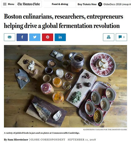 Boston culinarians, researchers, entrepr
