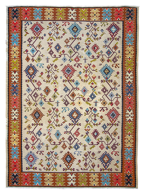 Fine Antique Kilim - 243 x 180cm