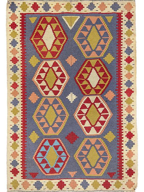 Colourful Persian Kilim Rug - 150 x 105cm