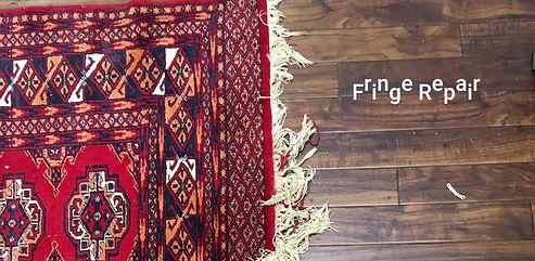 Rug & Carpet Fringe Restoration from The Rug Shop of Tunbridge Wells