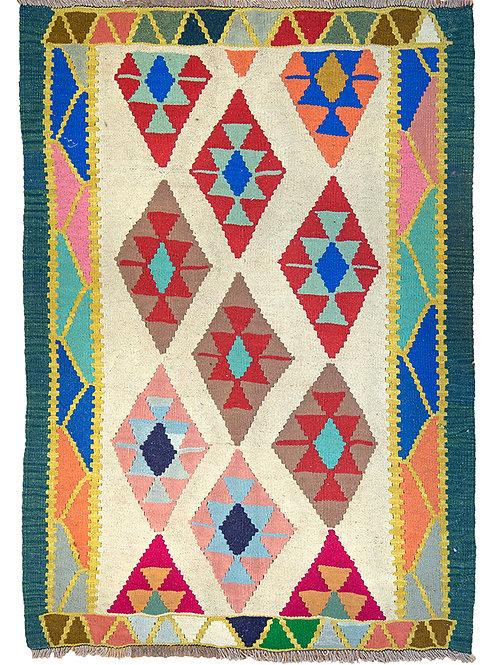 Persian Kilim Rug - 145 x 106cm