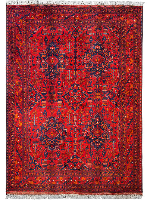 Ultra Fine Afghan Beljik - 207 x 148cm
