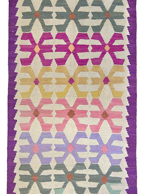 Colourful Persian Kilim Rug - 153 x 96cm