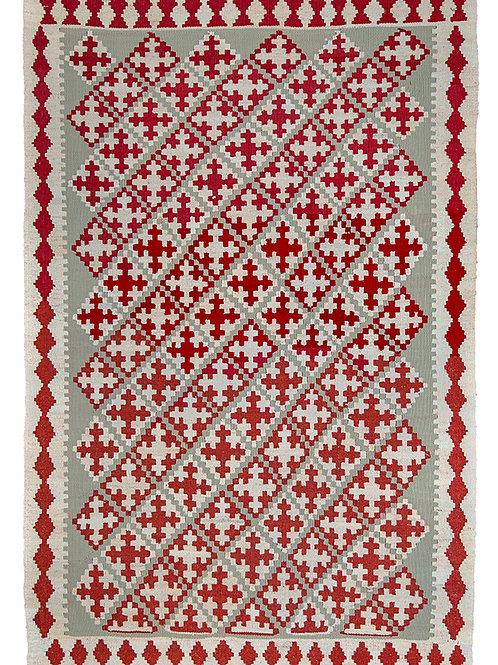 Colourful Persian Kilim Rug - 151 x 99cm