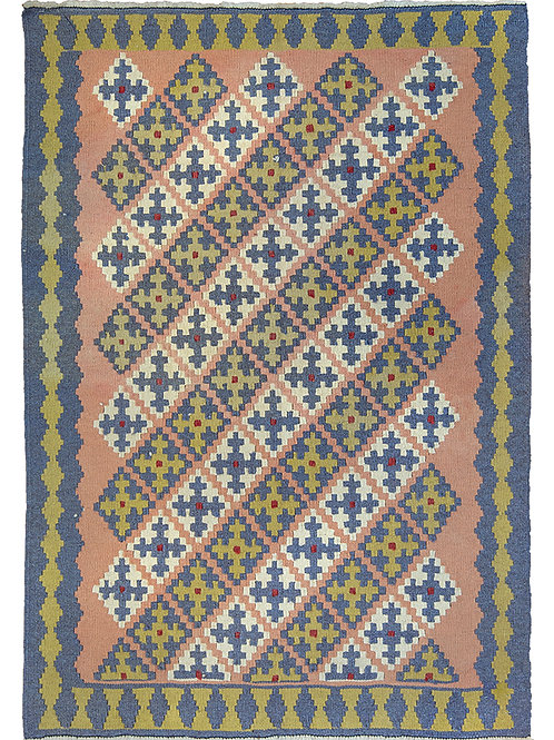 Colourful Persian Kilim Rug - 150 x 108cm