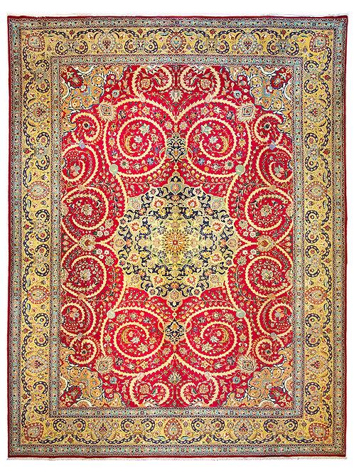 Fine Tabriz - 378 x 280cm