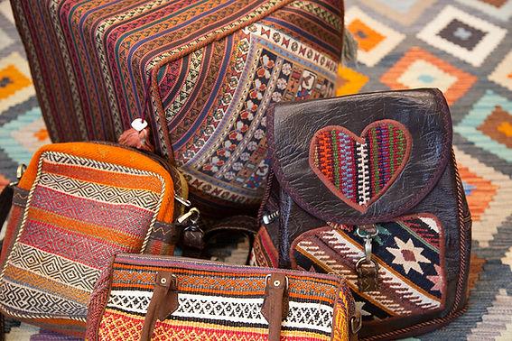 Kilim Bags, Cushions & Rug, The Rug Shop of Tunbridge Wells.jpg