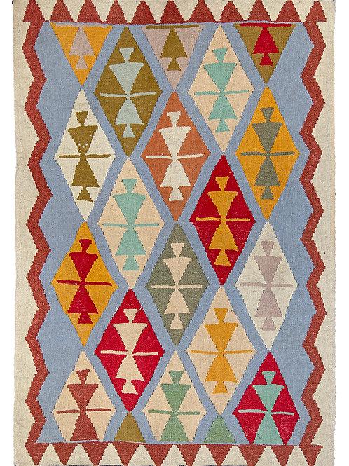 Colourful Persian Kilim - 152 x 105cm