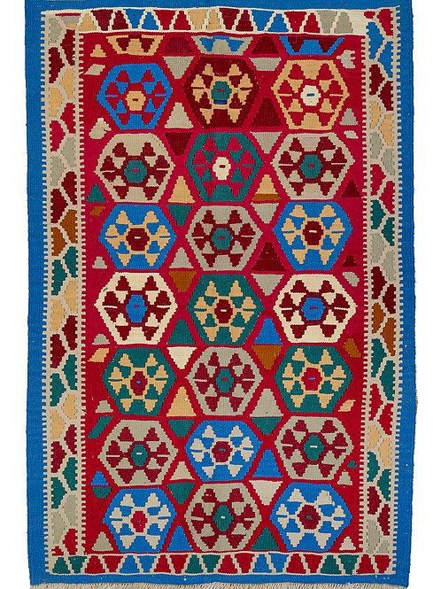 Colourful Persian Kilim Rug - 156 x 104cm