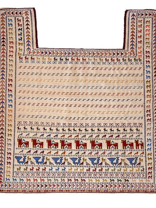Qashqai Kilim - 140 x 128cm