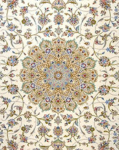 Medallion design, Persian Kashan Rug