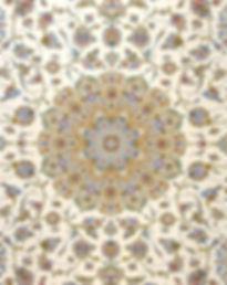 Medallion design, Persian Kashan Rug