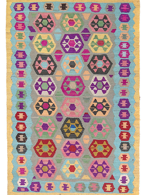 Colourful Persian Kilim Rug - 150 x 100cm