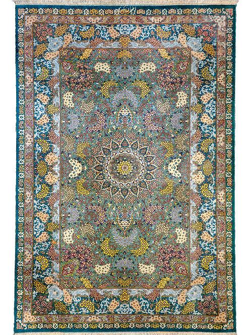 Fine Akhavan Karimi Qum Silk - 116 x 78cm