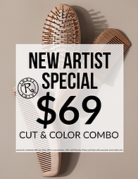 New Artist Special
