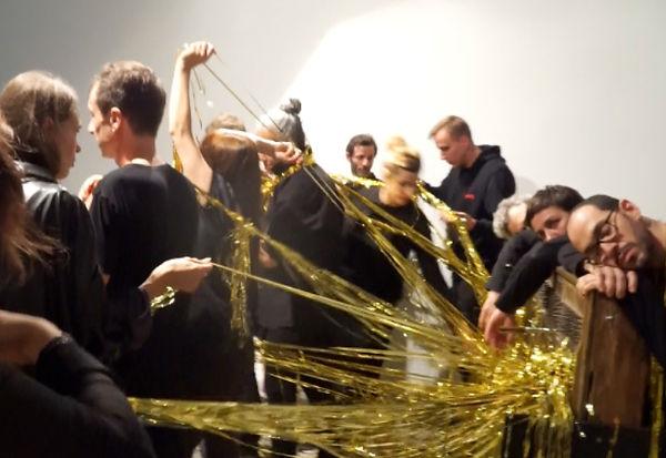 Piano stripes for 36 hands Launching of Mot Slow #5 Gru_nd Berlin, 01/06/18