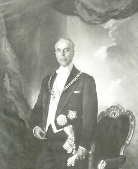 Habib Burguiba, presidente de Túnez