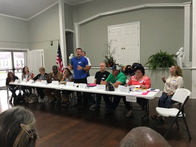 1st Town Hall Meeting