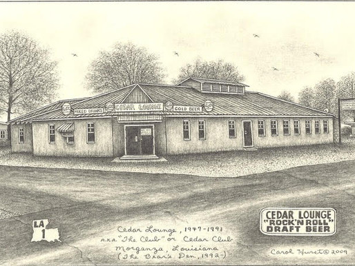 Morganza Revitalization Continues With The Opening Of The Old Cedar Club On New Year's Eve