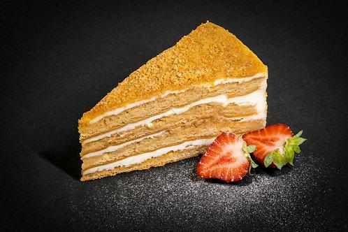 торт песочный  Медовик