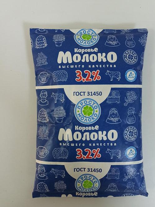 Молоко ТФА упаковка 900мл