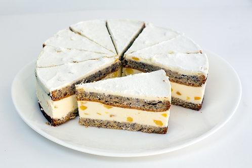 """Торт бисквитный """"Грушевый с рикоттой"""""""