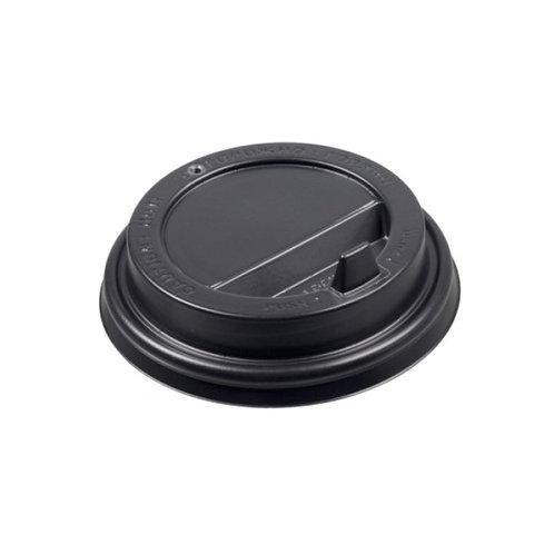 Крышка ПС с клапаном 90мм черная