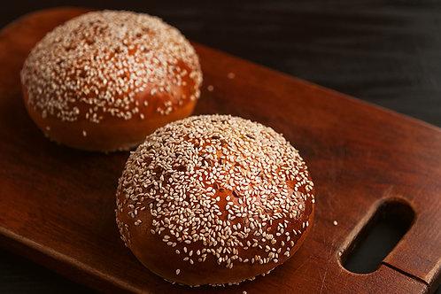 """Булочка для гамбургера """"Пшеничная"""" классическая 11.5 см"""