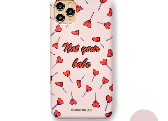 Not your babe (aka Bye!) ♥