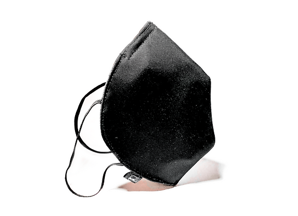 Mascarilla Negra 4 capas
