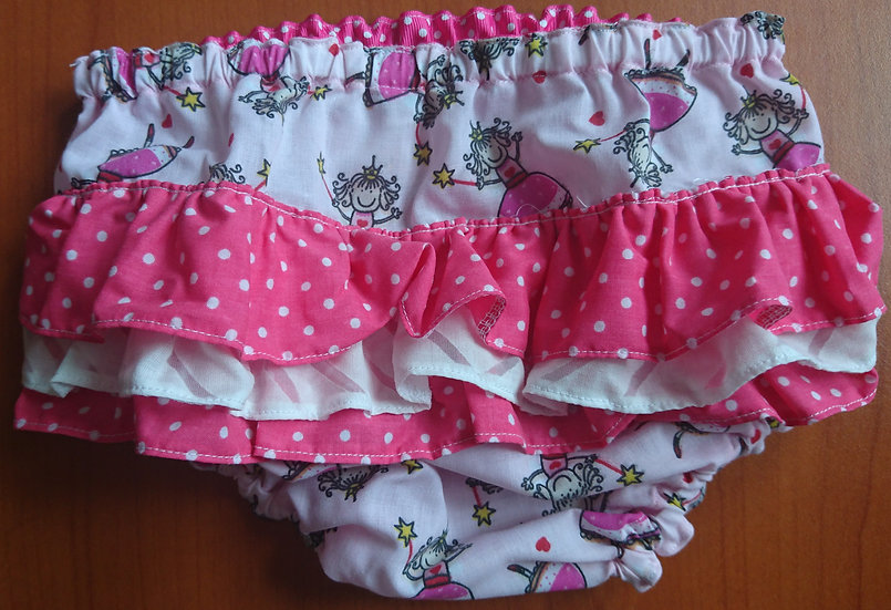 Frilly knickers 12-18m