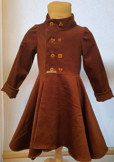 Duchess coat - made to order