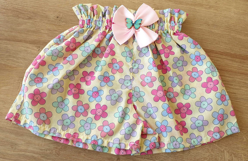 High waist shorts 4-5yo