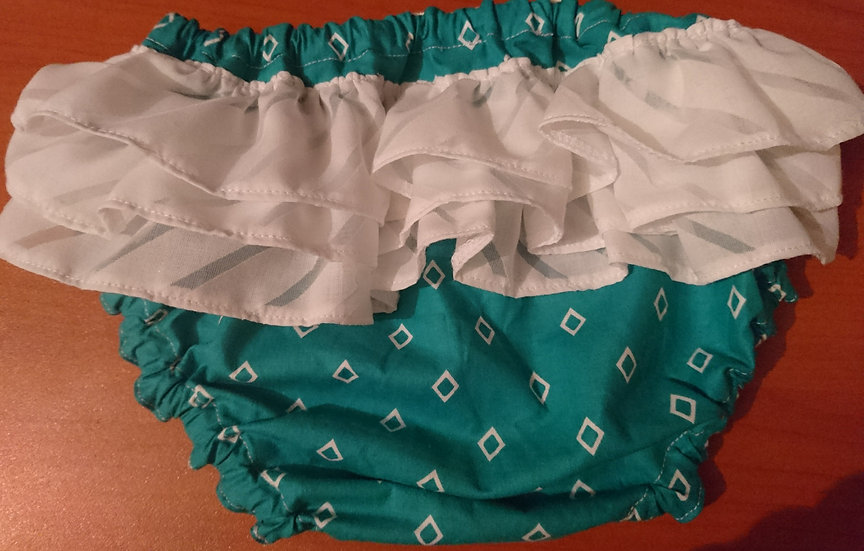 Frilly knickers 3-6m